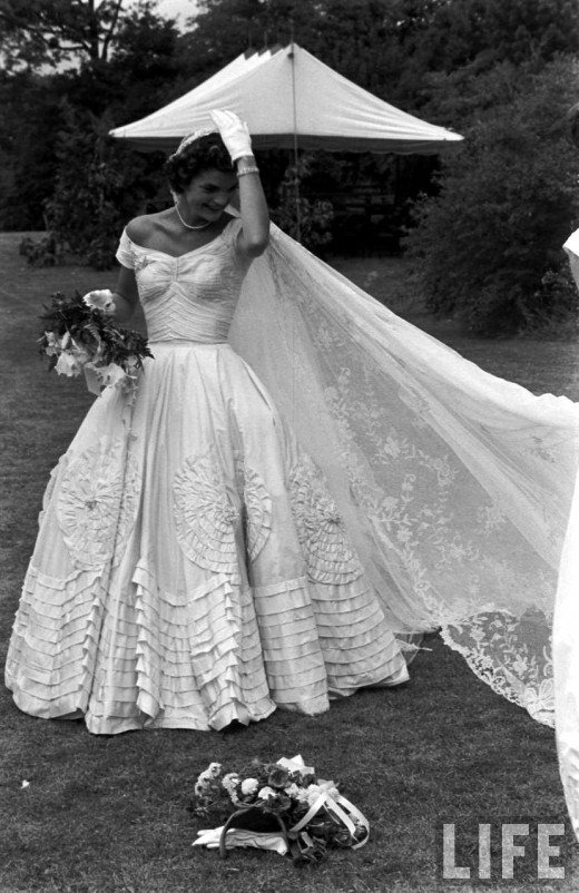Jackie Bouvier Kennedy Wedding