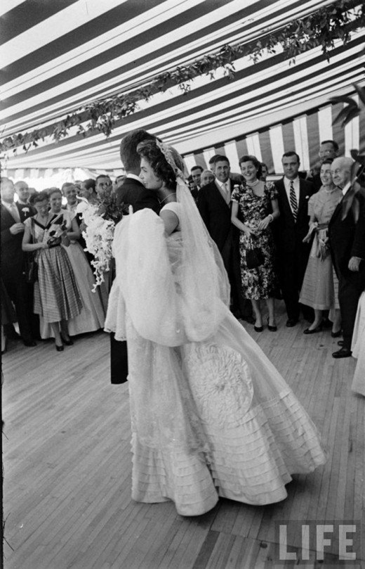 Jackie Bouvier Kennedy JFK Wedding