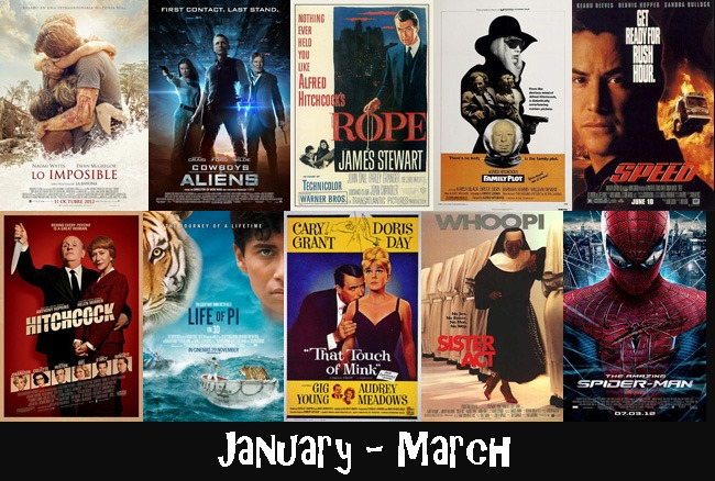 January - March 2013 Films