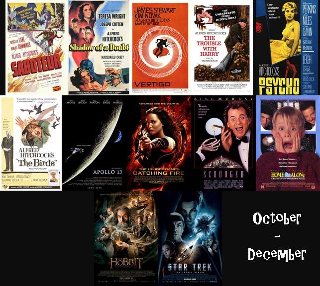 October - December 2013 Films