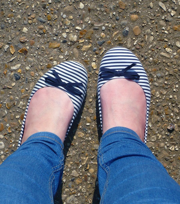Stripy Pumps Primark